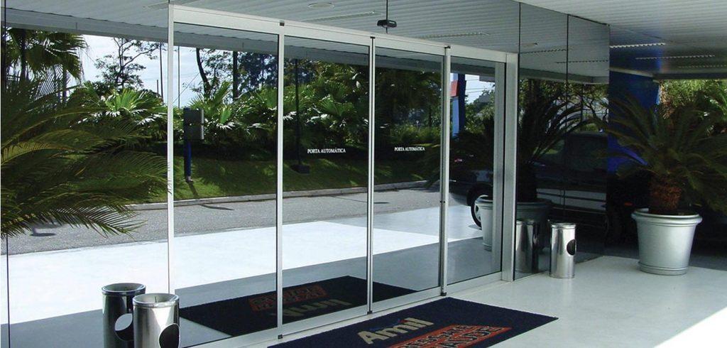 portas automáticas de vidro BH